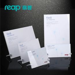 $enCountryForm.capitalKeyWord Australia - Reap KEDI acrylic L-shape desk sign holder card display stand table menu service Label office club business restaurant