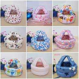 Fallen Hats Australia - Children Safety Hat Anti Falling Cap Head Protection Baby Toddler Multiple Styles Colors Mix 12wj F1
