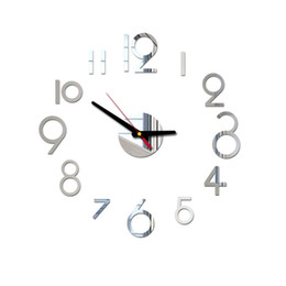$enCountryForm.capitalKeyWord Australia - Best selling 2019 products Wall clock when modern design digital clocks clock Large my melody in the kitchen living room