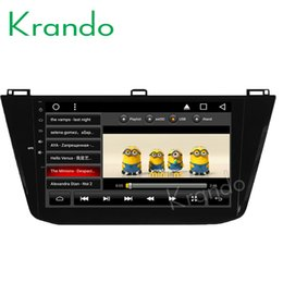 "Vw Stereos Android Australia - Krando Android 8.1 10.1"" Big Screen Full touch car dvd Multimedia player radio player for VW TIGUAN 2016 radio navigation gps wifi"