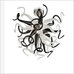 $enCountryForm.capitalKeyWord Australia - Mini Style Chihuly Free Air Shipping Staircase Long Chandeliers High Ceiling Decorative Art Glass Handmade Light Decoration Lamps