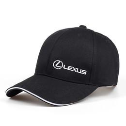 a53d9470f49  KAGYNAP  MOTO GP F1 Racing Cap Black Lexus Motorcycle Baseball Cap Classic Hats  For Men Outdoors Car Hat Women Snapback Caps