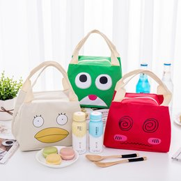 $enCountryForm.capitalKeyWord Australia - Residence Pickup Zipper Cartoon Expression Heat Preservation Outdoors Picnic Many Function Oxford Cloth Bento Ice Package Handbag Bags