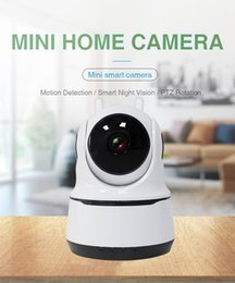 tilt monitor UK - Smart Home Wireless Wifi IP Camera Cute Baby Monitor Two way Audio Night Vision Support Mobile Phone remote monitor Home Safety Guard Camera