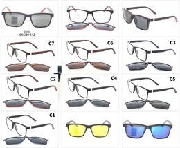 Wholesale Lense Glasses Australia - 2019 TR90 glass frame with magnet clip Sun Glasses Oculos De Sol Double lense Flip Up Sunglasses Classic 10pcs lot