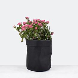 $enCountryForm.capitalKeyWord Australia - Hot Kraft Paper Bags Planters Flower Pots Washable garden pots multi-function Storage Bag succulent planters Decoration