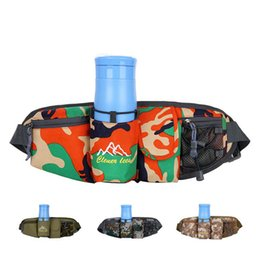 Fanny pack water bottle online shopping - Fanny Waist Pack Belt Hip Bum Military Male Sling Chest Bags Durable Water bottle Kettle Assault Molle Bag LJJM2255