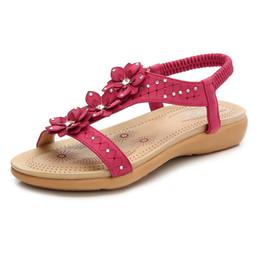 8e636d31cb0ca New Women Sandals Summer Flat Sandals Rhinestone Fashion Women Casual Shoes  Comfort Ladies Shoes Beach 35-41