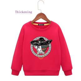 Discount boy winter cars - Autumn And Winter New Pattern No Inverted Velvet Clothing Parenting Sweater Boys Girl Thread Car Side Plus Cashmere Slee