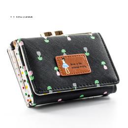 $enCountryForm.capitalKeyWord Australia - 2019 good quality 3 Fold Women Clutch Mini Cash Hasp Wallets Ladies Short Design Girls Floral Pattern Purse Wallet Hand Coin Money Bag
