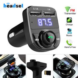 $enCountryForm.capitalKeyWord Australia - FM Transmitter Aux Modulator Bluetooth Handsfree Car Kit Car Audio MP3 Player with 3.1A Quick Charge Dual USB Car Charger