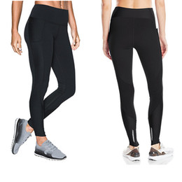 girls sports tight pants 2019 - S-XXL U&A Stretchy Leggings Womens Skinny Pants Tights Sports Jogging YOGA High Waist Push Up Trousers Brand GYM Track D