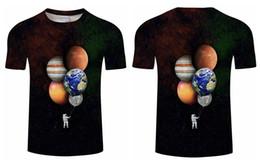 $enCountryForm.capitalKeyWord Australia - Women Men T-Shirt Astronaut in space 3D Print Casual Short Sleeve Tops Tee G02