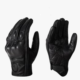 $enCountryForm.capitalKeyWord Australia - Motorcycle All-Finger Touch Screen Windproof Leather Gloves Off-Road Racing Outdoor Protective Gloves With Hole Breathable
