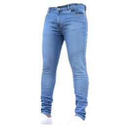 $enCountryForm.capitalKeyWord UK - Wholesale-new 2019 male trousers slim pencil pants boys jeans skinny pants casual trousers men jeans 1083