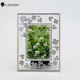 photo frames glass Australia - Four-clover Musical Notation Picture Frame Tempered Glass Photo Frame Valentine's Day Presen Tabletop DIY Gift Decorations for H