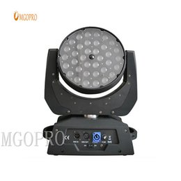 moving heads lights price 2019 - China suppler stage led lighting 36pcs 10w moving head zoom light with factory price directly sales