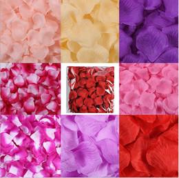 $enCountryForm.capitalKeyWord Australia - Hot sale 11000pcs kg Cheap Silk Rose Flower Petals Non-woven fabric Artificial Flowers Wedding Birthday Party Decorations free shipping