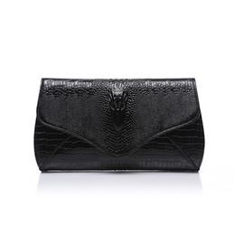 $enCountryForm.capitalKeyWord NZ - 2019 new fashion trend crocodile Cowhide leather Women bag ladies chain handbag shoulder messenger bag ladies leather clutch