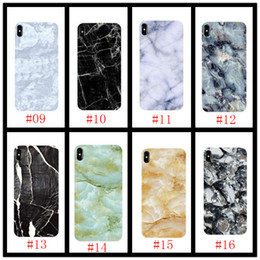 $enCountryForm.capitalKeyWord Australia - 19ss Glossy Marble Case For iPhone X Stone Image Pattern Cases Soft IMD Silicon Back Cover For iPhoneX 8 7 6 6S Plus