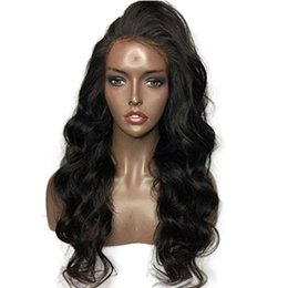 Human Hair For Wigs UK - Part Loose Wave 360 Lace Frontal Wigs 150 Density For Black Women Wavy Brazilian Remy Human Hair Lace Wigs 360