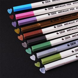 Pen Boards UK - Diy Cute Water Chalk Watercolor Gel Black Board Marker Pen For Wedding Photo Album Scrapbooking 1408 C19041901