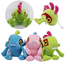 Kids fish games online shopping - Murloc Plush Doll cm Soft Stuffed Cute Animal Fish Doll Toys Kids Baby Cartoon Game Novelty Items OOA6391