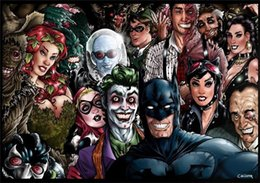 $enCountryForm.capitalKeyWord Australia - Batman Catwoman Harley Quinn Joker,Home Decor HD Printed Modern Art Painting on Canvas (Unframed Framed)