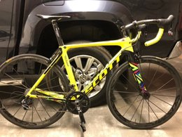 $enCountryForm.capitalKeyWord Australia - Foil Olympics Rioedition Yellow UD Carbon Road complete Bike Bicycle Cosmic Carbon wheels UD Glossy Handlebar