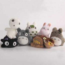 Miyazaki Plush Toys NZ - for spirited away plush Princess Mononoke Studio Ghibli Miyazaki Puppets Plush Toys Soft Dolls animation doll