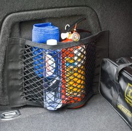 Trunk neTs for cars online shopping - Car bag Mesh in Trunk Car Organizer Back Seat Net Cars Storage Box Mesh Trunk Auto Trunk Organizer Storage Bag For Cargo Collect
