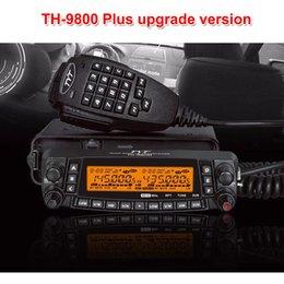 Venta al por mayor de Última versión TYT TH-9800 Quad Band 50W Walkie Talkie Radio TH9800 mejorada