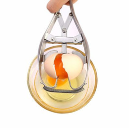 $enCountryForm.capitalKeyWord UK - New hot sell Kitchen cooking tool Cut gadgets Creative Home Design Egg Tool Kitchen Stainless Steel open egg apparatus