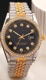 Wrist Watches Logos Australia - Top Have Logo Relogio Masculino Mens Watches Luxury Wrist Fashion Designer Black Dial Calendar Leather Steel Folding Clasp Master Male Clock