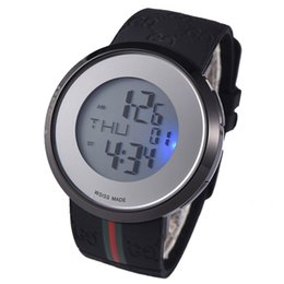 $enCountryForm.capitalKeyWord UK - 2019 Hot Sale Fashion Swiss Watch For Women Mens High Quality Sport Wristwatch LED Colorful Light Watches With Box