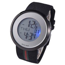 2019 горячие продажи Моды швейцарские часы для женщин мужские спортивные наручные часы высокого качества LED красочные светлые часы с коробкой