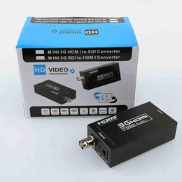 Hd Audio Pc Australia - Mini 3G HDMI to SDI Converter Adapter Newest 1080P Hdmi-sdi Converter Video Audio Converter Adapter for Home Theater Cinema PC HD