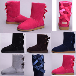$enCountryForm.capitalKeyWord Australia - 2019 fit cheap warm WGG Women's Australia Classic Women girl tall boots Snow Winter boots Khaki grey black pink boots outdoor shoes