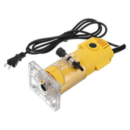 $enCountryForm.capitalKeyWord Australia - Freeshipping 1300W 6.35Mm 30000Rpm Electric Trimmer Wood Laminate Router 110V Woodworking Trimming Power Tools Carving Milling Machine
