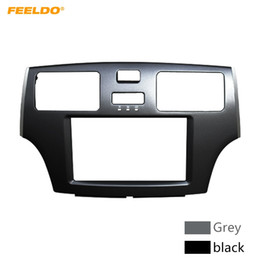 $enCountryForm.capitalKeyWord Australia - FEELDO Car 2DIN Stereo Audio Fascia Panel Frame Adaptor For Toyota Windom LEXUS ES Dash Trim Frame Installation Fit Kit #4862