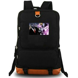hockey masks Australia - Black Mask daypack Super hero school bag Roman Sionis photo backpack Canvas laptop schoolbag Outdoor rucksack Sport day pack