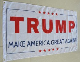 3x5 donald trump flags NZ - Party New 3x5 Ft Donald Trump Flag 2016 Make America Great Again Donald for President USA American 2016 Presidential Election Flag