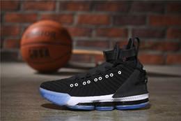 new arrival 8beb1 9e7a7 Vente chaude chaussures de designer Nouveau Style XVI 16 Harlem Chaussures  de Basketball pour Haute qualité Mode Hommes Baskets 16s HFR Sneakers Hommes  ...