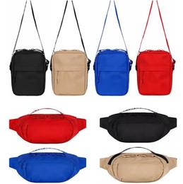 Sac de taille Top qualité Sac à bandoulière Loisirs Oxford Hip-Hop Ceinture Pack Bag poitrine pack sac banane hommes Messenger Sacs en Solde