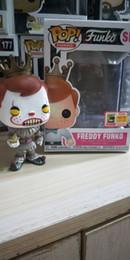 $enCountryForm.capitalKeyWord NZ - Free shipping FUNKO POP clown catcher hand office piece toy FREDDY FUNKO image limited SE# Toy Gift