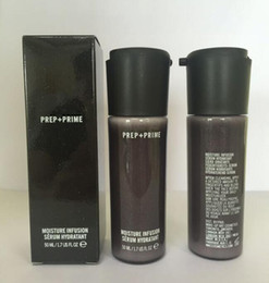 In Stock! NEW Brand Faced Prep + Prime Moisture Infusion Serum Hydratant Primer 50ml Foundation Free shipping on Sale