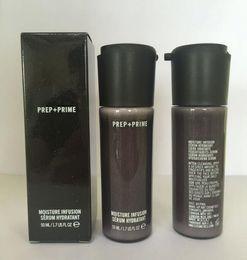 Venta al por mayor de ¡En stock! NUEVO Brand Faced Prep + Prime Moisture Infusion Serum Hydratant Primer 50ml Fundación DHL Envío gratis 60pcs
