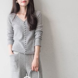 758fb9bdaec Autumn Winter Sweater Women Pullovers Top Wool Long Sleeve Female Soft  Jumper Sexy V Neck Women Pullover Sweater Jersey Mujer