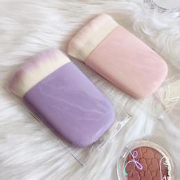 $enCountryForm.capitalKeyWord NZ - KIKO Waterflower Magic 3IN1 Kabuki Brush Multi-purpose Kabuki Face powder brush Pink Purple Color Makeup Tool Blend Tool