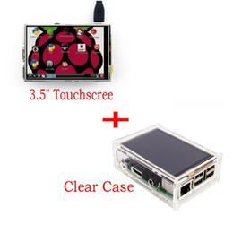 "$enCountryForm.capitalKeyWord Australia - Freeshipping New Original 3.5"" LCD TFT Touch Screen Display for Raspberry Pi 3 Model B Board + Acrylic Case + Stylus"